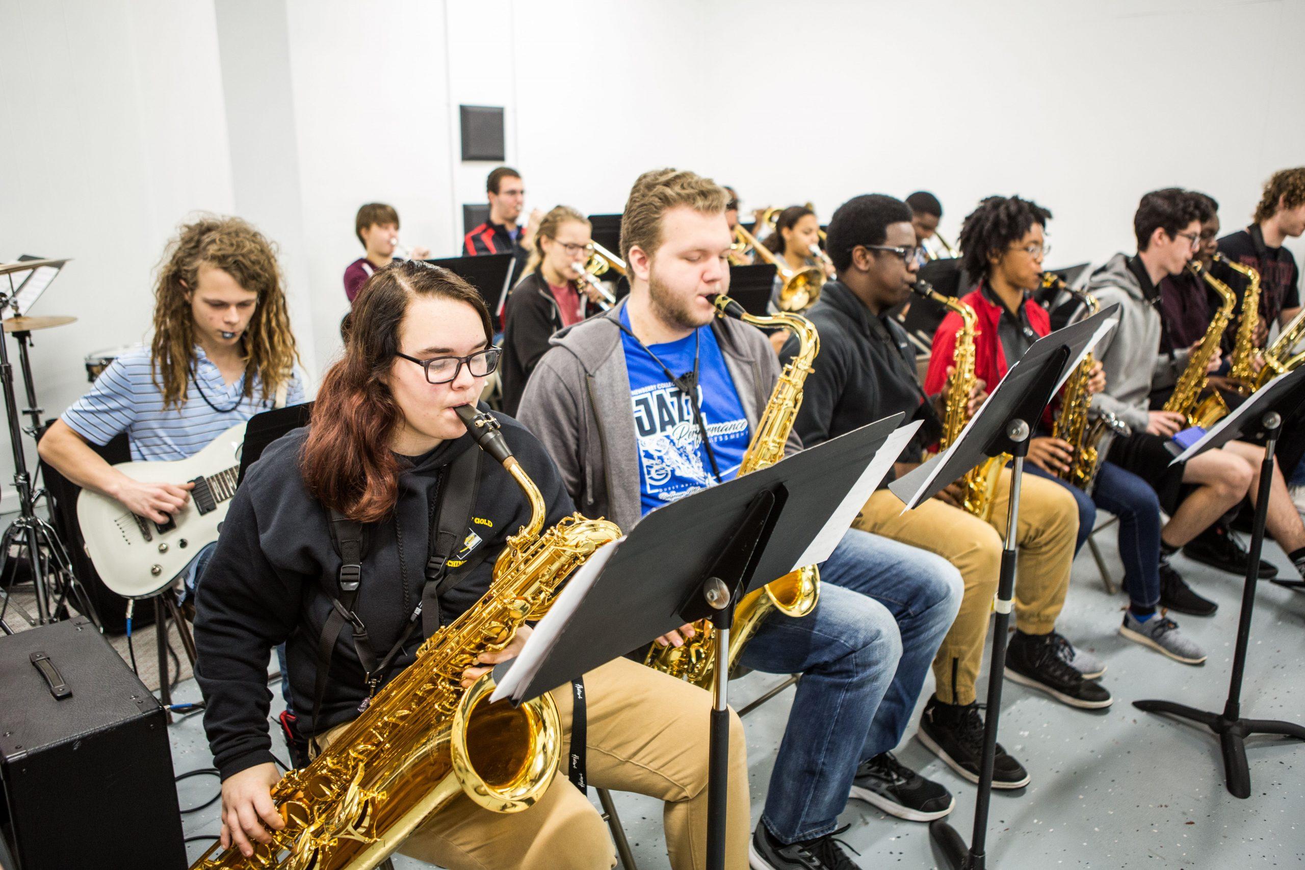 Charleston Jazz Academy Students