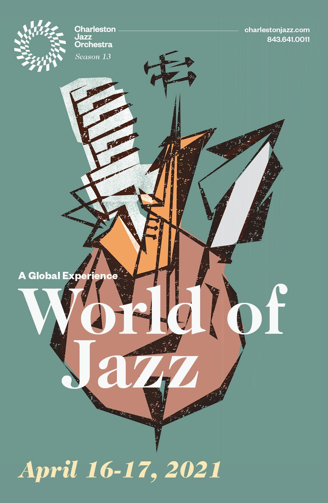 World of Jazz Poster