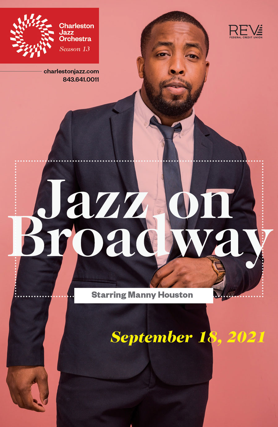 Jazz on Broadway Poster