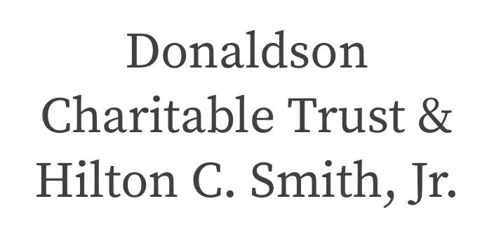 Charleston Jazz Community Partner: Donaldson Charitable Trust & Hilton C Smith Jr