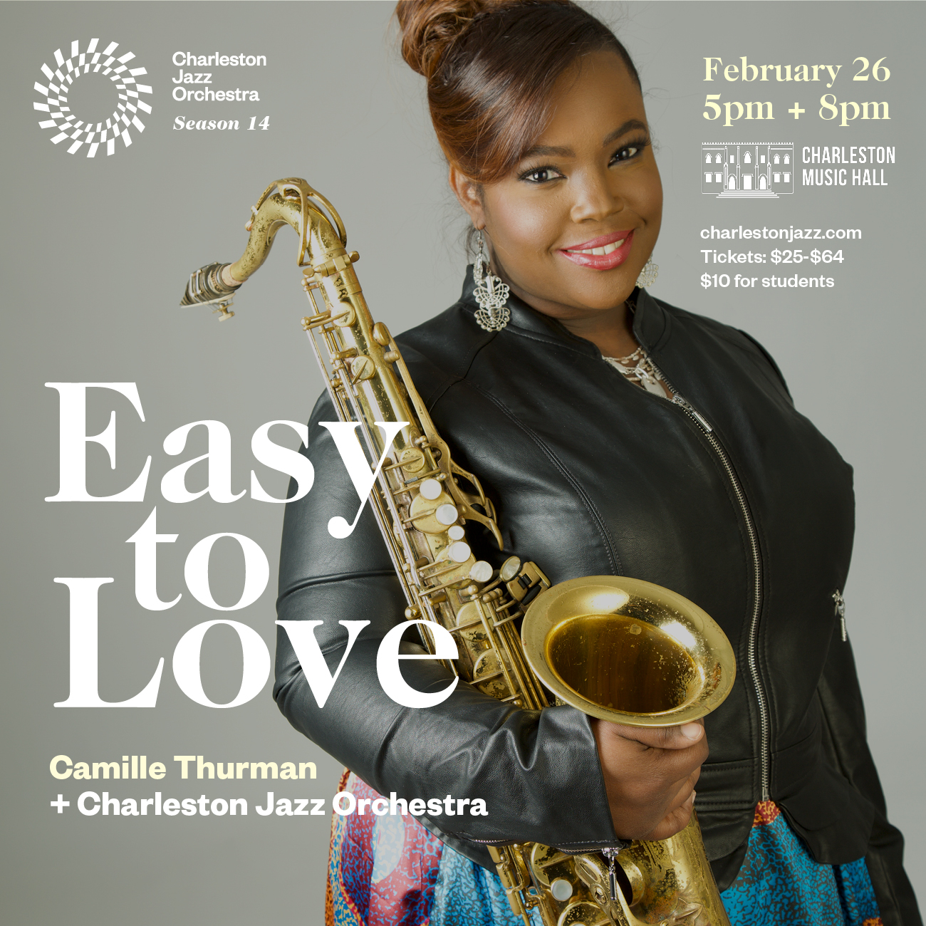 Easy to Love: Camille Thurman + CJO