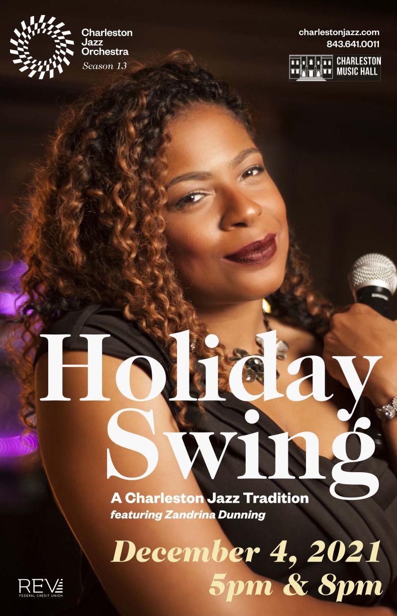 Holiday Swing A Charleston Jazz Tradition featuring Zandrina Dunning